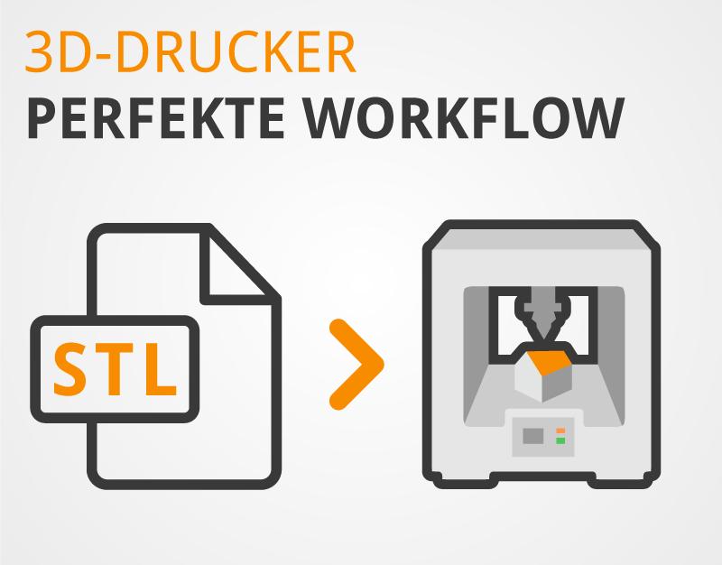 3D-Drucker: Mit dem Slicer von STL zu GCODE (Idee zum Druck)