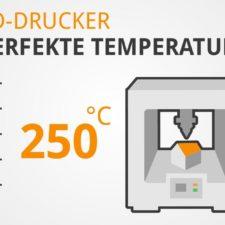 3D-Drucker Temperatur