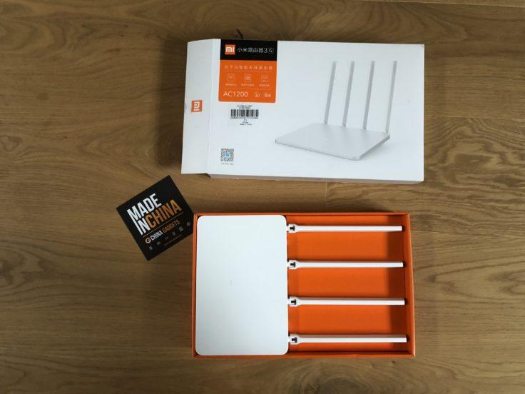 Xiaomi Router 3G ausgepackt