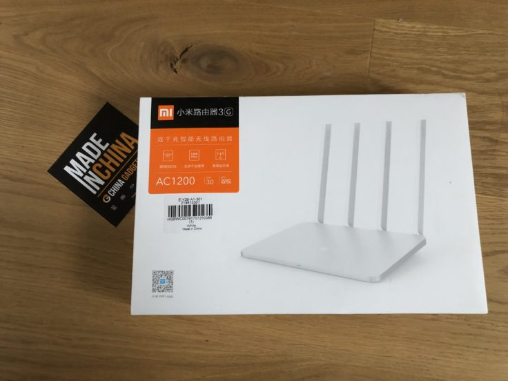Xiaomi Router 3G Verpackung