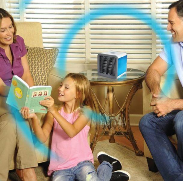 Air Conditioner Werbung Familie