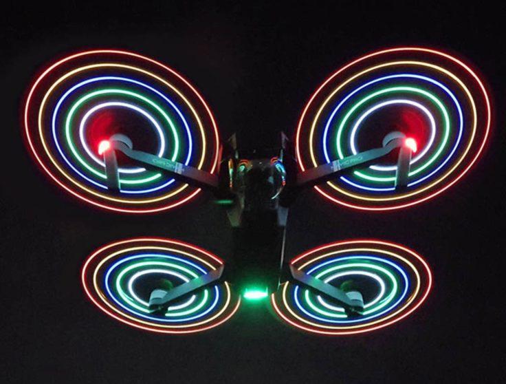 DJI Mavic Pro LED-Propeller Rotorblätter