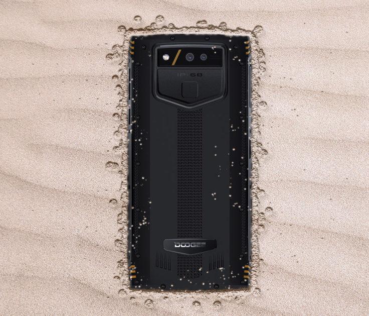 Doogee S50 Outdoor Smartphone Staubdicht