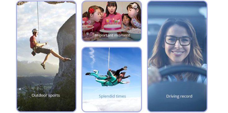 G2 HD-Brille Kamera Anwendungsmöglichkeiten