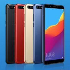 Honor 7C Smartphone Design