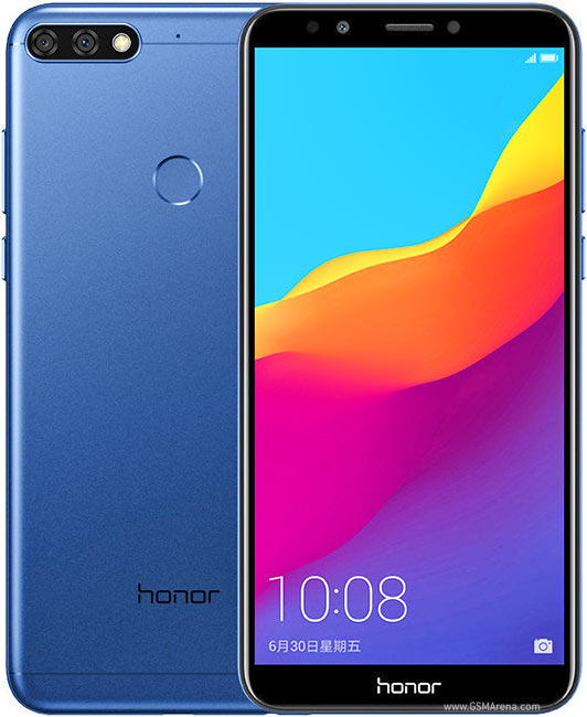 Honor 7C Smartphone Frond und Rueckseite