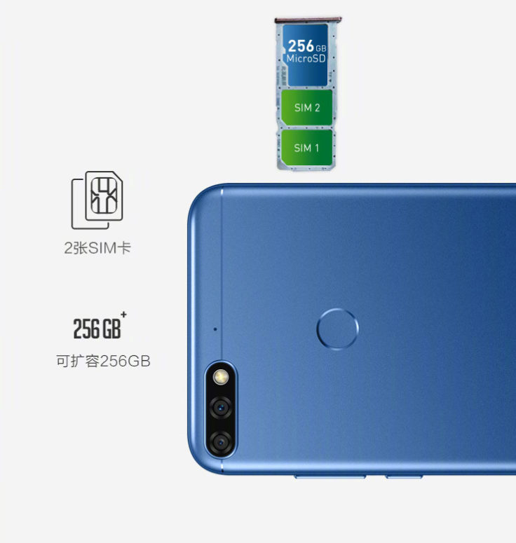 Honor 7C Smartphone Konnektivität