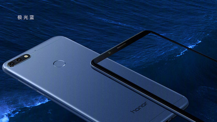 Honor 7C Smartphone Rueckseite