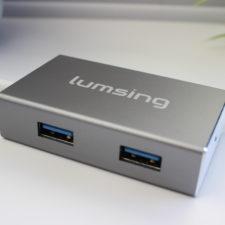 Lumsing USB Typ C Hub 4 Ports