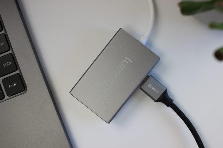 Lumsing USB Typ C Hub Logo