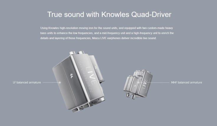 Meizu LIVE Quad-Drivers