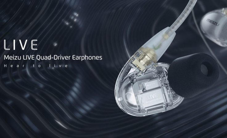 Meizu LIVE Quad-Drivers In-Ear Transparent