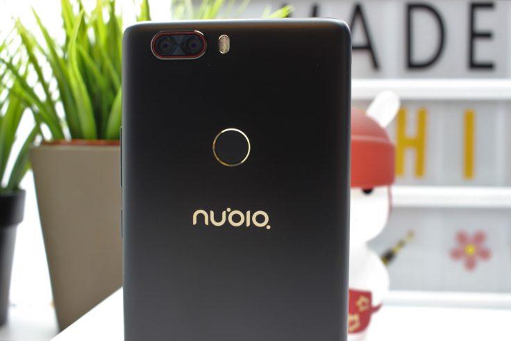 Nubia Z17 Lite Fingerabdrucksensor