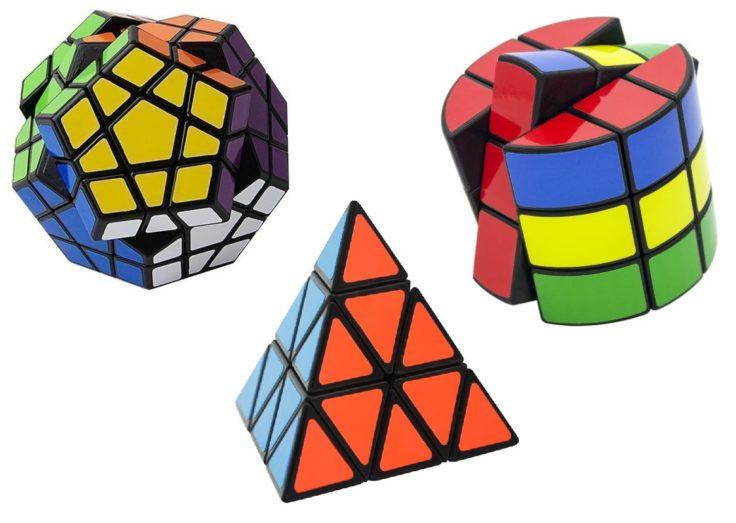 Rubiks Cube Zauberwürfel Verschiedene Formen