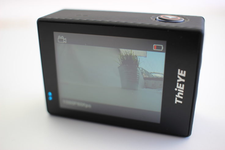 ThiEYE T5 Edge Actioncam Display