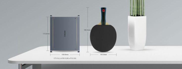 Chuwi Werbung Vergleich Maße