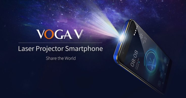 VOGA V Projektor Smartphone