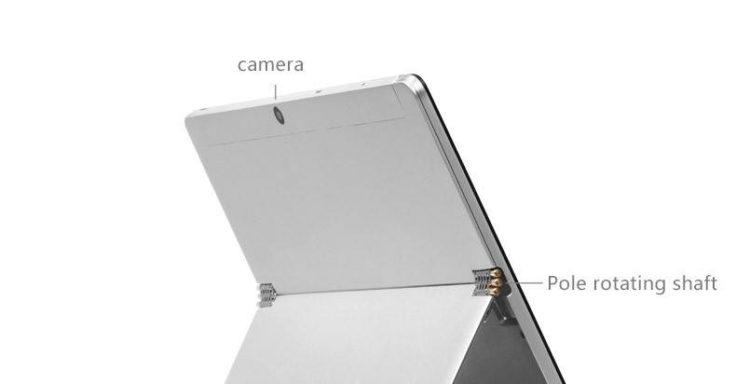 Die Rückseite des VOYO I8 Max Tablet