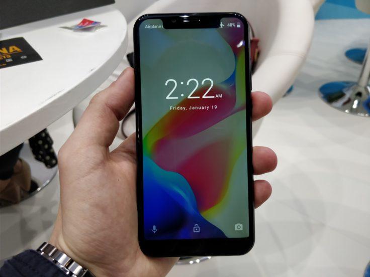 Das Vernee M7 Smartphone auf der MWC 2018