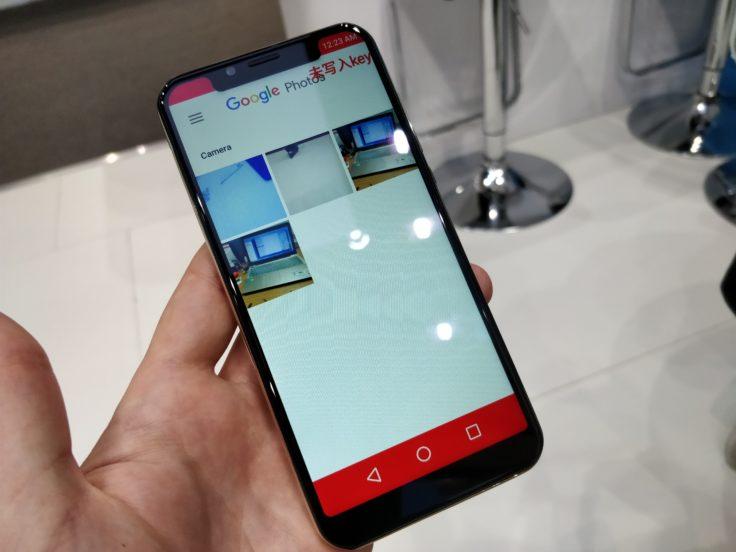 Die Frontseite des Vernee M7 Smartphones