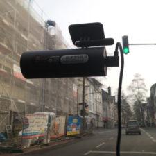 Xiaomi 70 Minutes Dashcam Aufnahme aus dem Auto