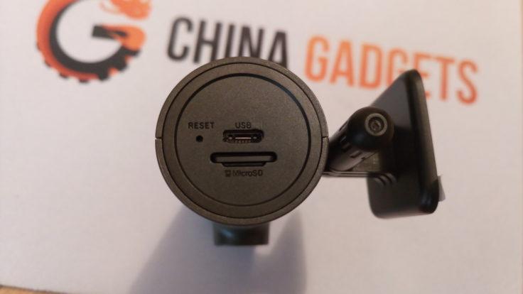 Xiaomi 70 Minutes Dashcam Eingänge