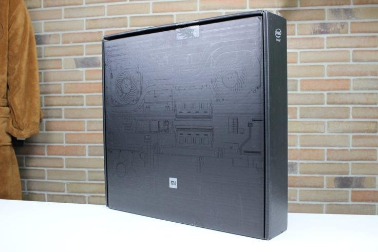 Xiaomi Mi Gaming Notebook Verpackung