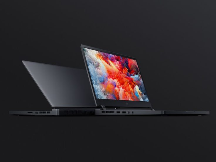 Xiaomi Mi Gaming Notebook Vorder- und Rückseite