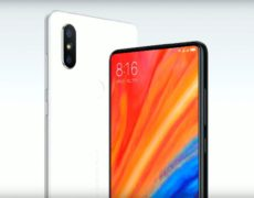 Xiaomi Mi Mix 2S Schwarz Weiß
