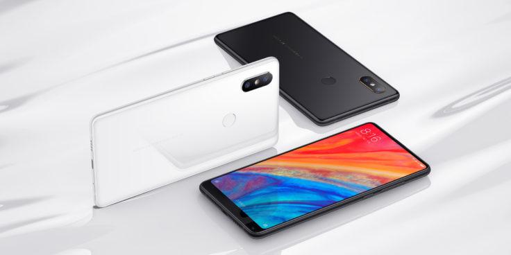 Xiaomi Mi Mix 2S Smartphone Design Vorder und Rueckseite