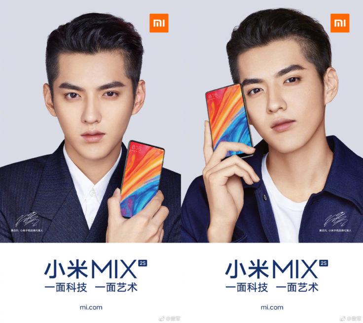 Xiaomi Mi Mix 2S Smartphone Poster Werbung