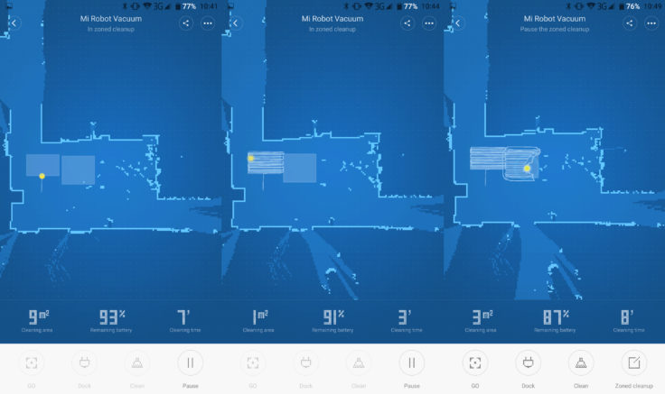 Xiaomi Mi Robot Saugroboter Raumeinteilung App
