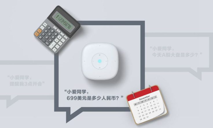 Xiaomi Mini AI Speaker Sprachsteuerung