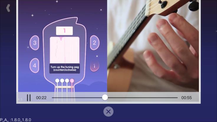 Xiaomi Populele Ukulele App Stimmen