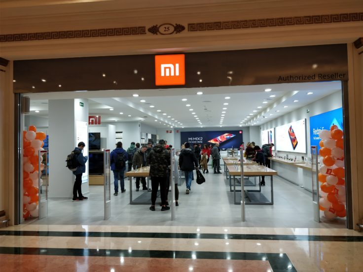 Xiaomi Store Barcelona Eingangsbereich