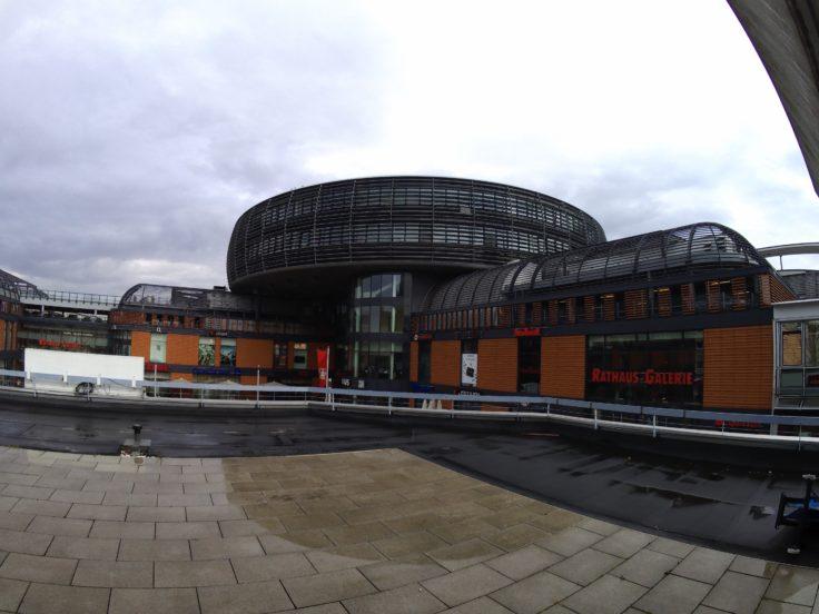 YI Discovery Action Cam Foto Rathaus Leverkusen