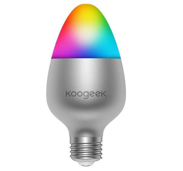 koogeek smarte led gl hbirne kompatibel mit apple homekit f r 16 99. Black Bedroom Furniture Sets. Home Design Ideas