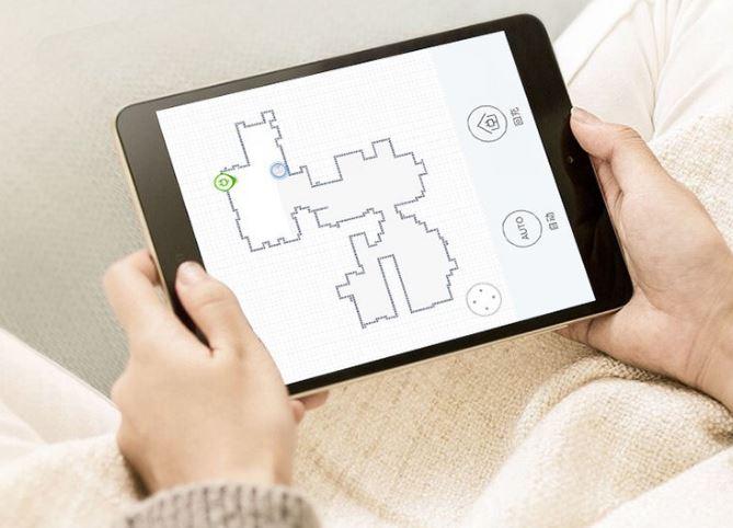Ecovacs DE33 Saugroboter App Mapping Tablet