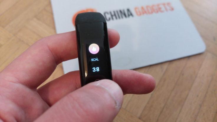 G16 Fitness Tracker Kalorienzähler