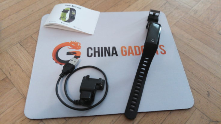 G16 Fitness Tracker Lieferumfang