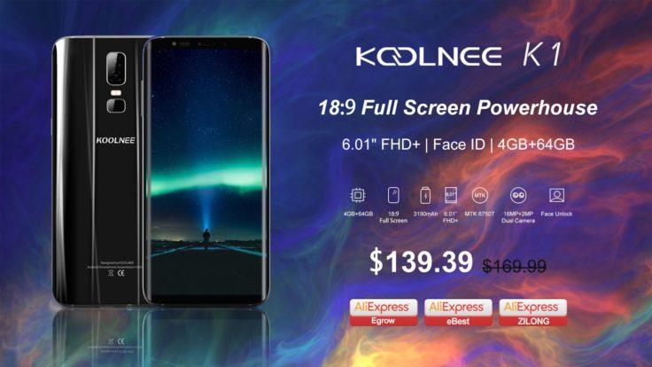 Koolnee K1 Smartphone AliExpress Aktion