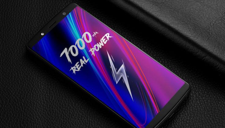 Leagoo Power 5 Frontseite