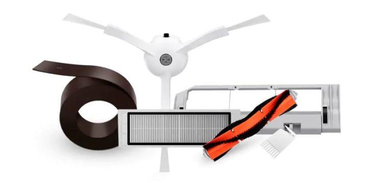piezas de recambio para el robot