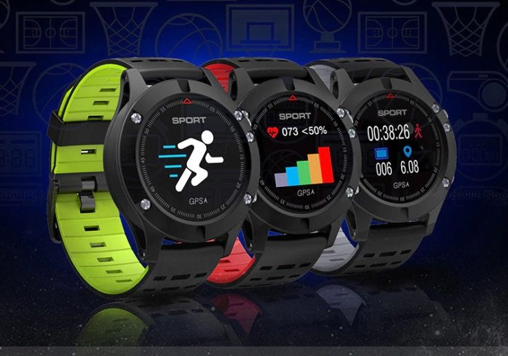 No. F5 Smartwatch Fitness Tracker