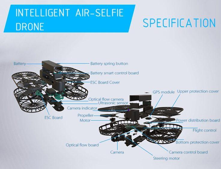 Simtoo Moment 4K Selfie Drohne (2)