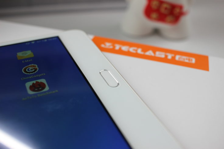Teclast Master T8 Tablet Fingerabdrucksensor