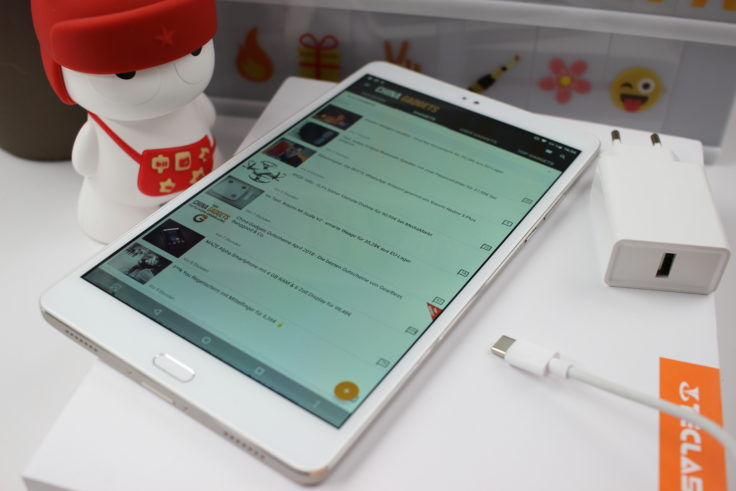 Teclast Master T8 Tablet Lieferumfang