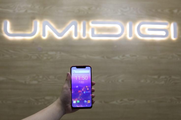 UMIDIGI Z2/Z2 Pro UMIDIGI Logo