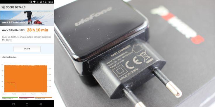 UleFone Power 5 Akku & Ladegerät