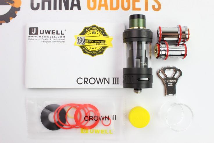Uwell Crown 3 Verdampfer Lieferumfang